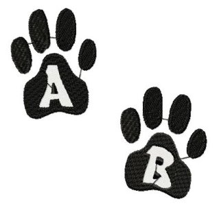 SSE Pawprint Alphabet Collection